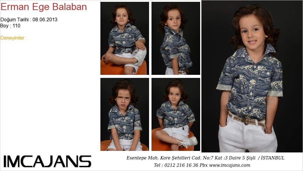 Erman Ege Balaban - IMC AJANS