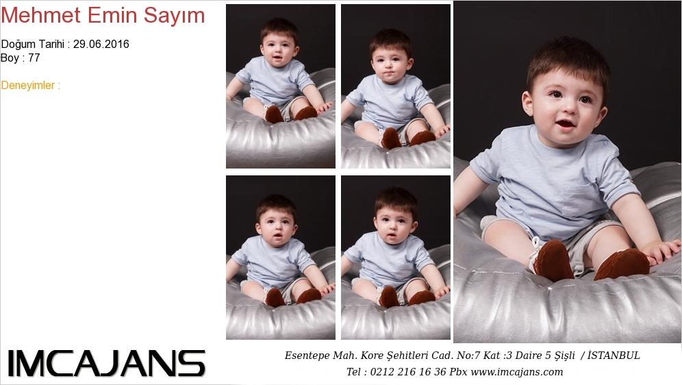 Mehmet Emin Sayým - IMC AJANS