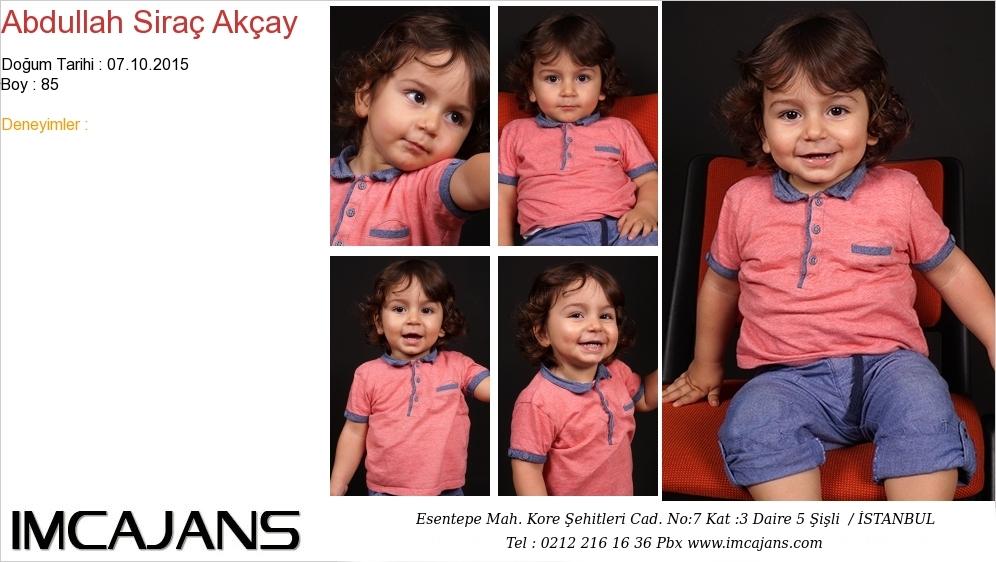 Abdullah Siraç Akçay - IMC AJANS
