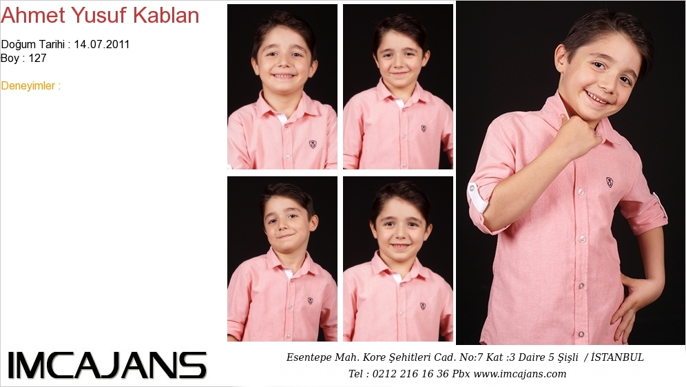 Ahmet Yusuf Kablan - IMC AJANS