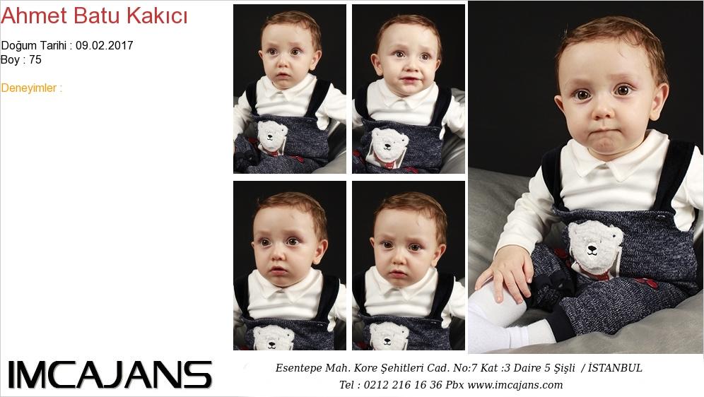 Ahmet Batu Kakýcý - IMC AJANS