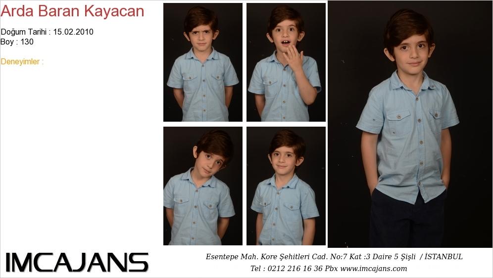 Arda Baran Kayacan - IMC AJANS