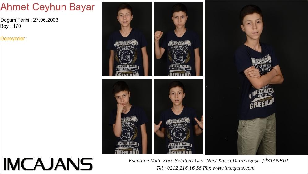 Ahmet Ceyhun Bayar - IMC AJANS