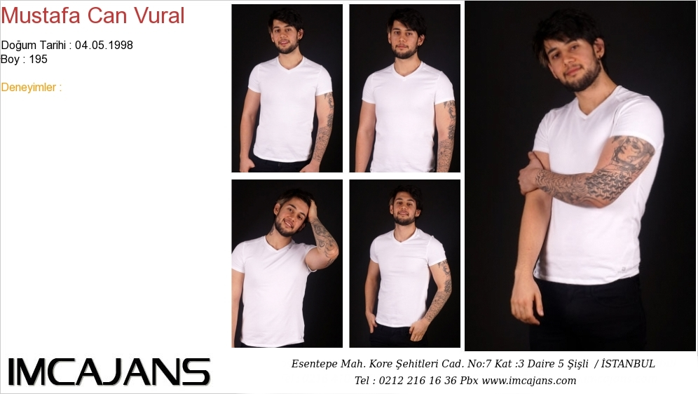 Mustafa Can Vural - IMC AJANS