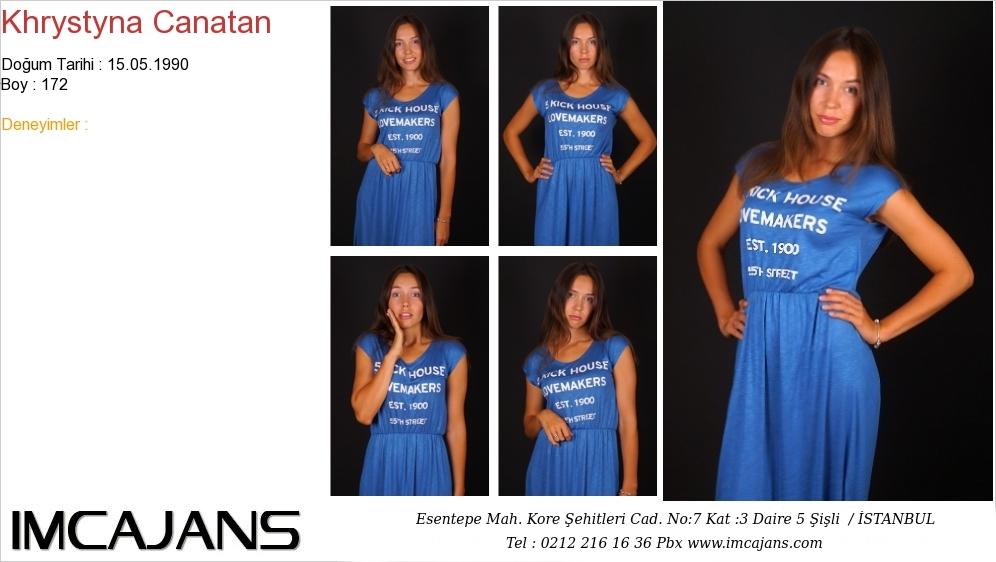 Khrystyna Canatan - IMC AJANS