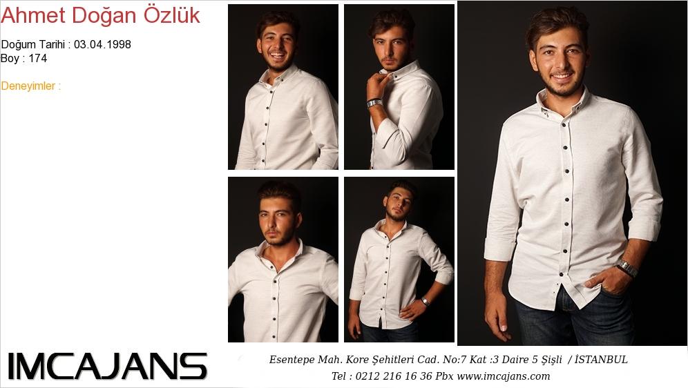 Ahmet Doðan ÖZLÜK - IMC AJANS
