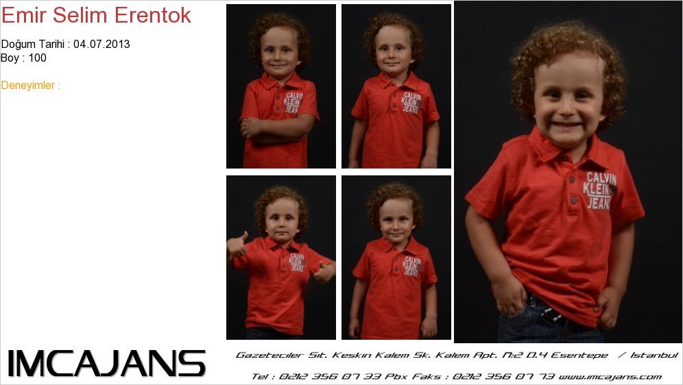 Emir Selim Erentok - IMC AJANS