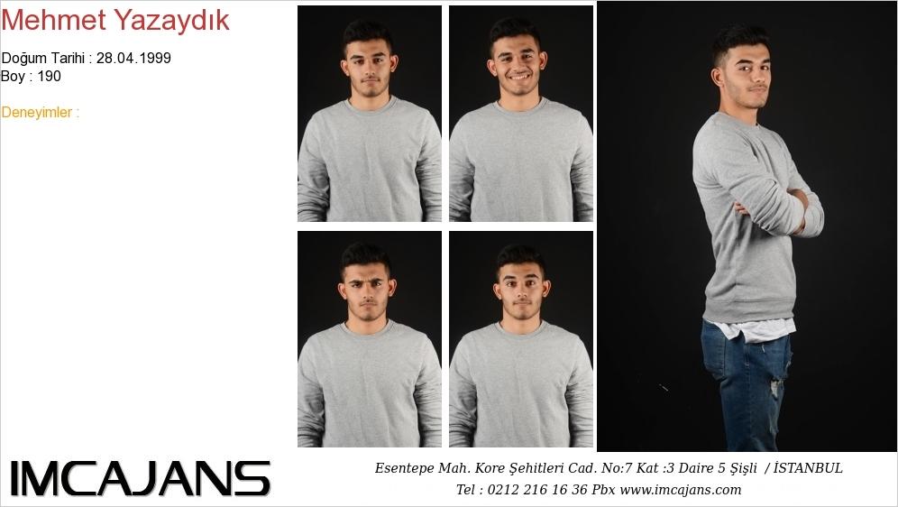 Mehmet Yazaydýk - IMC AJANS