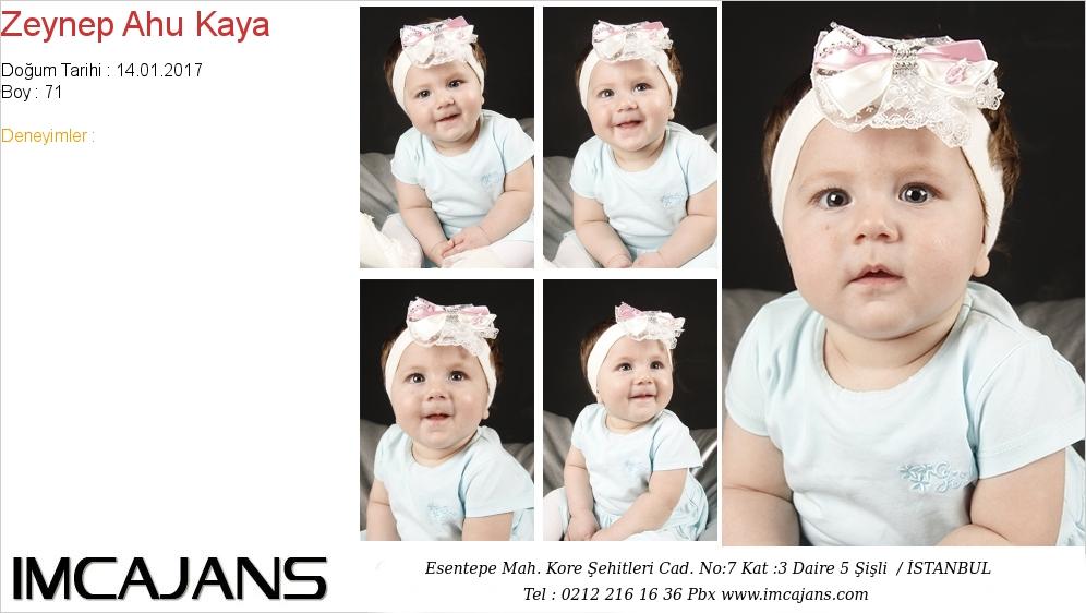 Zeynep Ahu Kaya - IMC AJANS