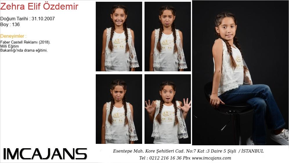Zehra Elif Özdemir - IMC AJANS
