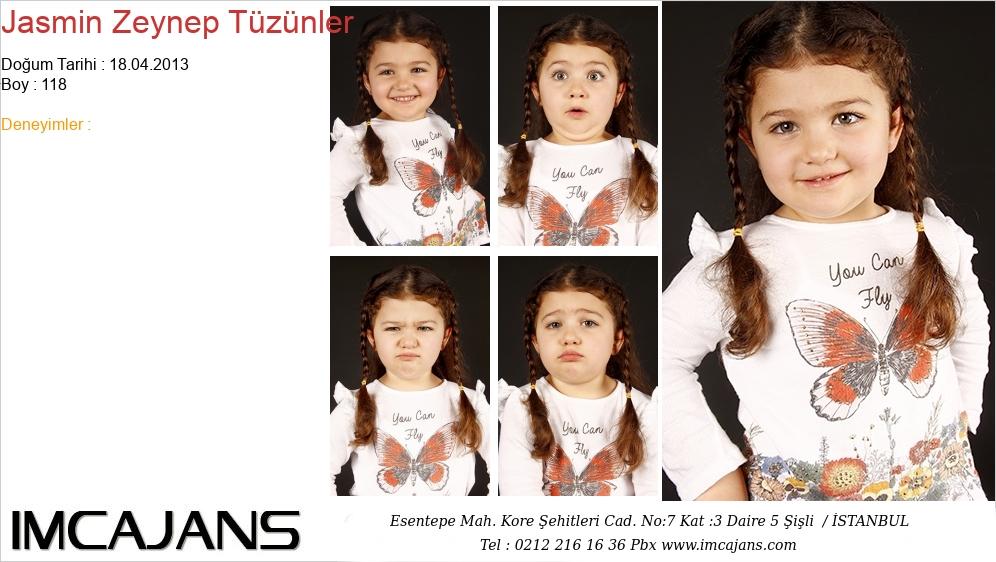 Jasmin Zeynep Tüzünler - IMC AJANS