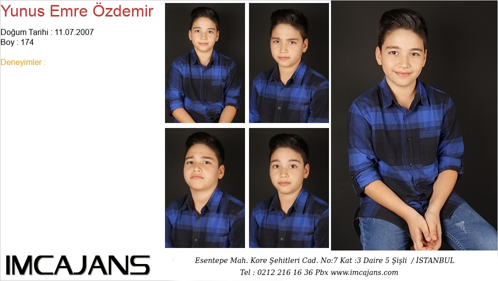 Yunus Emre Özdemir - IMC AJANS