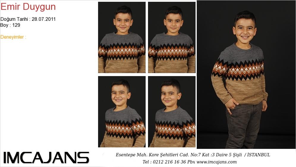 Emir Duygun - IMC AJANS