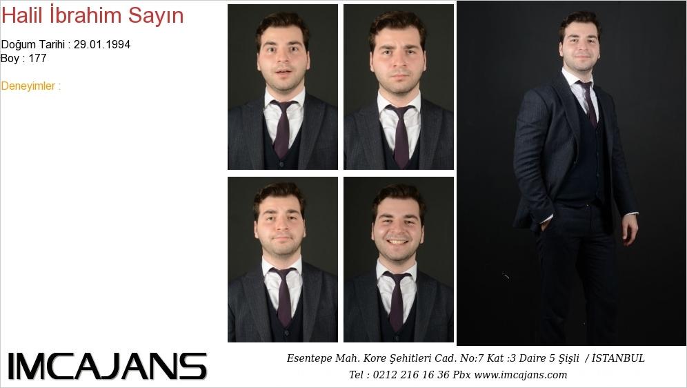 Halil Ýbrahim Sayýn - IMC AJANS