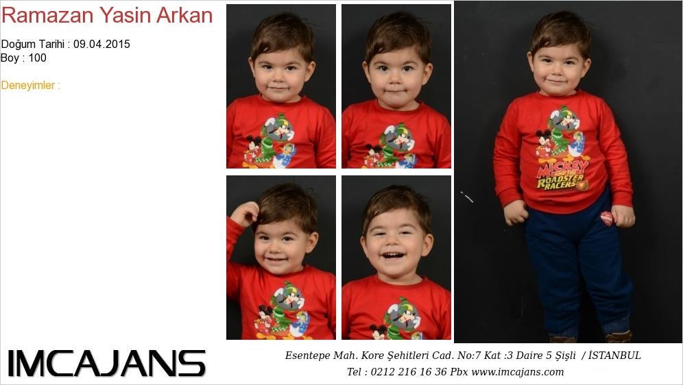 Ramazan Yasin Arkan - IMC AJANS