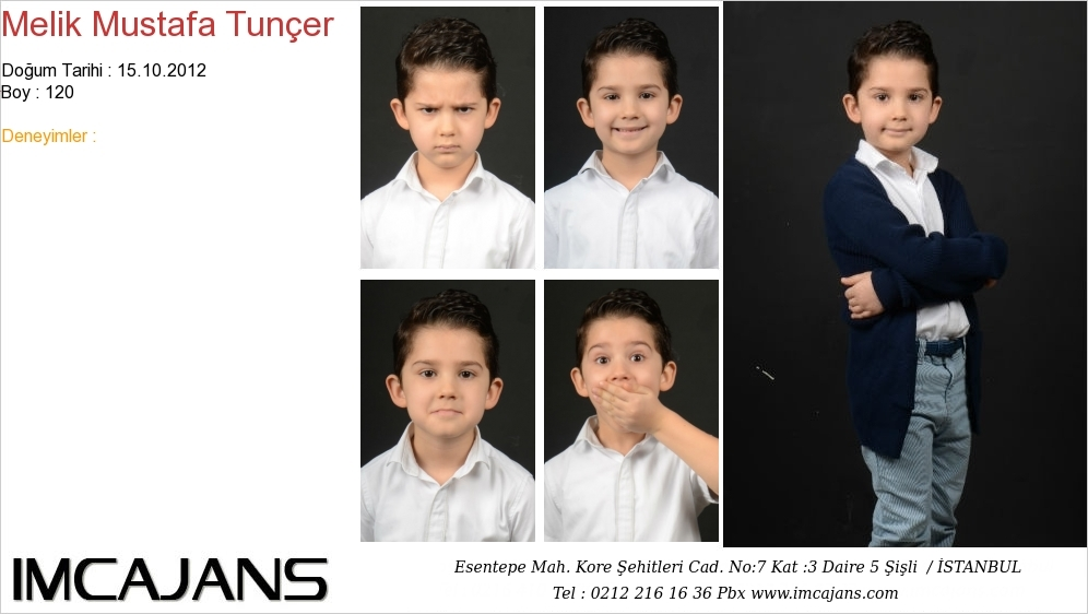 Melik Mustafa Tunçer - IMC AJANS