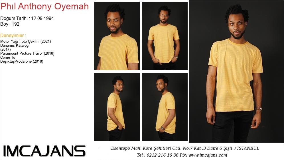 Phýl Anthony Oyemah - IMC AJANS
