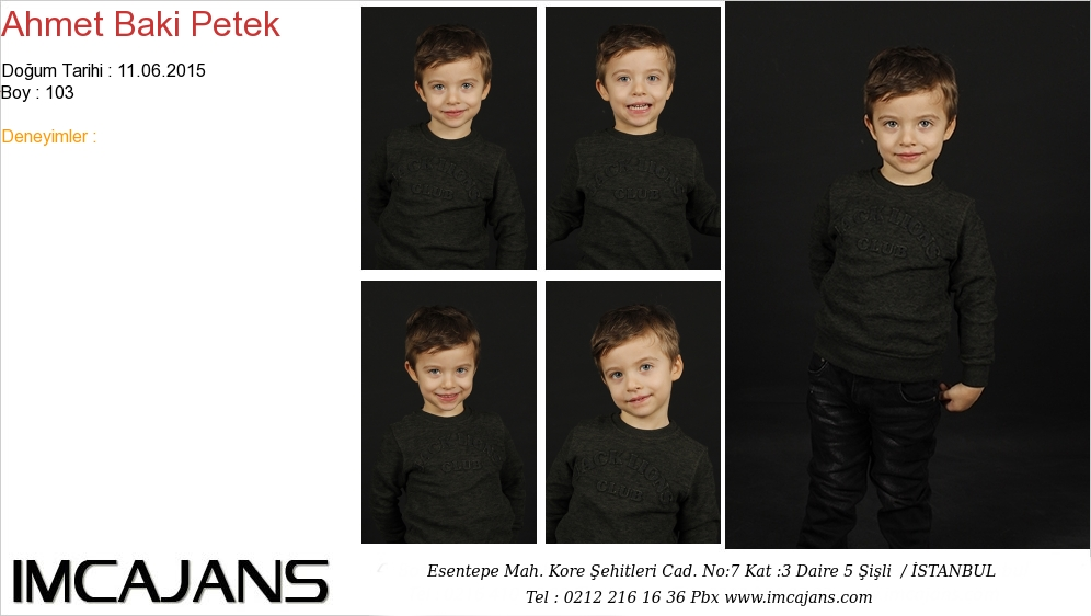 Ahmet Baki Petek - IMC AJANS