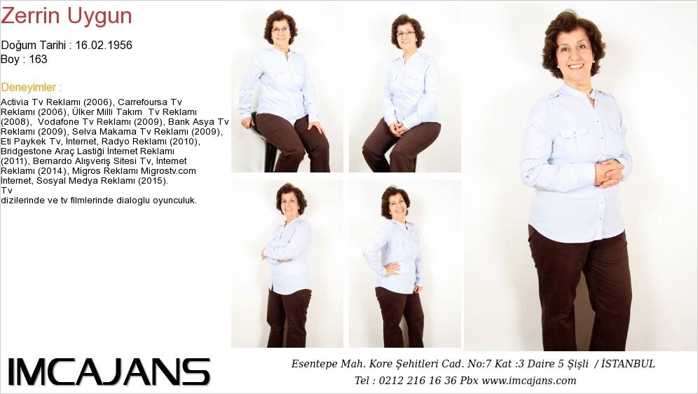 Zerrin Uygun - IMC AJANS
