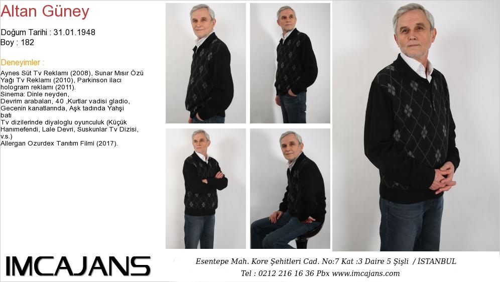Altan G�ney - IMC AJANS