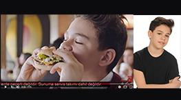 Blog - Çocuk Oyuncumuz Alper Serge mc donalds reklamýnda