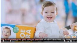 Projelerdeki Oyuncularýmýz - e- bebek baby me bebek bezi reklamýnda dünyalar güzeli bebek oyuncumuz Alara Seber yer almýþtýr.