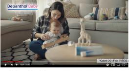 Blog - Bepanthol Baby reklamýnda bebek oyuncumuz Arsel Leon Aygör ve annesi Funda Aygör yer aldý.