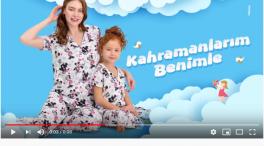 Projelerdeki Oyuncularýmýz - Arnetta reklamýnda baþarýlý oyuncumuz Gülizar Nisa Uray yer aldý.