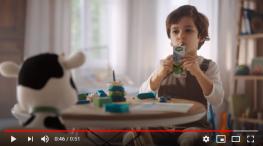 Projelerdeki Oyuncularýmýz - Sütaþ reklamýnda çocuk oyuncumuz Yusuf Gürle yer aldý