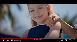 Projelerdeki Oyuncularýmýz - Boyner tarzýmýz güzel reklamýnda baþarýlý oyuncumuz Almina Günaydýn yer aldý.