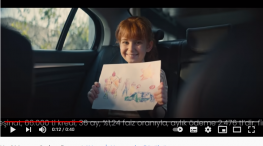 Projelerdeki Oyuncularýmýz - Yeni Renault Megane Sedan reklamýnda baþarýlý oyuncumuz Ela Saral yer aldý