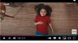 Projelerdeki Oyuncularýmýz - Arçelik kurutma reklamýnda baþarýlý oyuncumuz Melike Küçük yer aldý