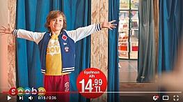 Projelerdeki Oyuncularýmýz - Çocuk oyuncumuz Alp Eren Günberi, Sobe Çocuk Giyim reklamýnda yer aldý