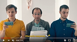 Blog - Oyuncularýmýz Hakan Bal ve Berke Barýn Turkcell Sen Nereye TV Oraya! reklamýnda yer aldý