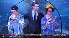 Projelerdeki Oyuncularýmýz - Oyuncumuz Sezgin Gürleyen, Turkcell Paycell reklamýnda yer aldý