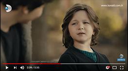 Blog - Çocuk Oyuncumuz Kerim Tuna Kaba Siyah Beyaz Aþk dizisinde.